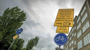 omleiding fietsen